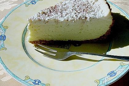 Käsekuchen  mit  weißer  Schokolade 1
