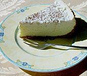 Käsekuchen  mit  weißer  Schokolade (Bild)