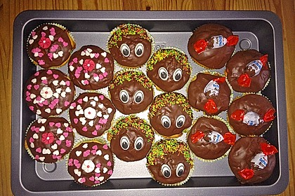 Kinderschokolade - Muffins 7