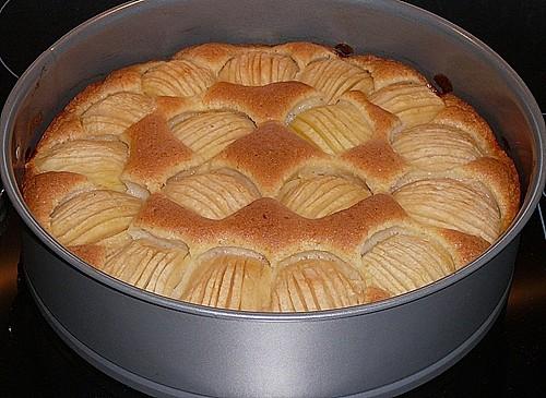 versunkener apfelkuchen rezept mit bild von kruemelchen26. Black Bedroom Furniture Sets. Home Design Ideas