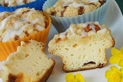 Käsekuchen - Muffins mit Butterstreuseln von Bezwinger | Chefkoch.de