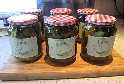 Gewürzgurken süß/sauer 5