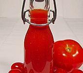 Tomatensaft eingekocht (Bild)