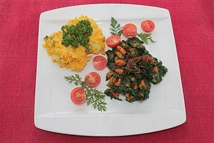 Kartoffel - Kürbis - Püree 2