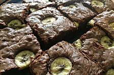 Bananen - Nutella - Brownies