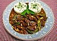 Geflügelleber in Marsala - Sauce