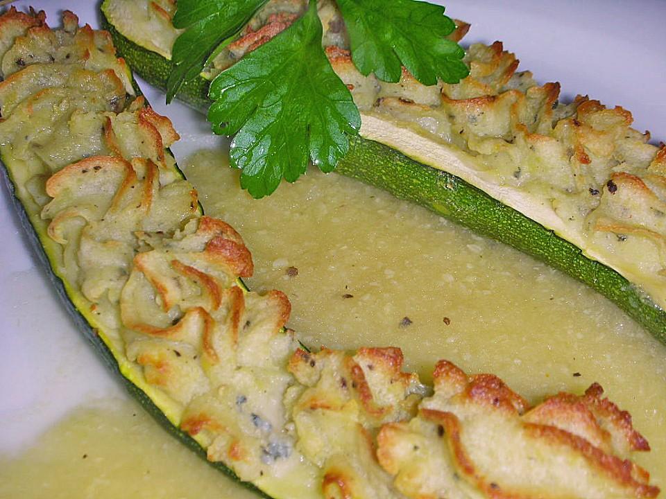 Rezepte mit zucchini gefullt