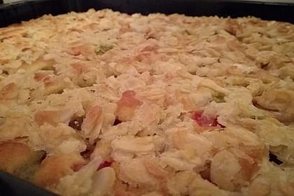 Schneller Blechkuchen mit Obst 22