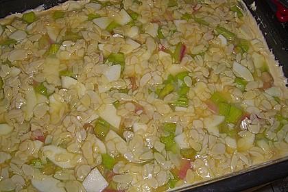 Schneller Blechkuchen mit Obst 20