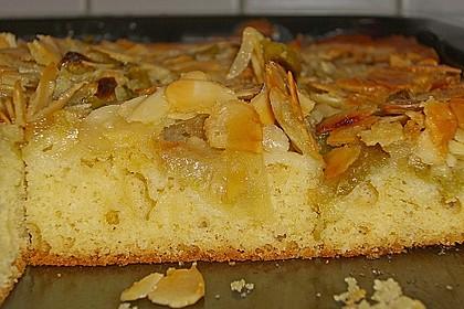 Schneller Blechkuchen mit Obst 6