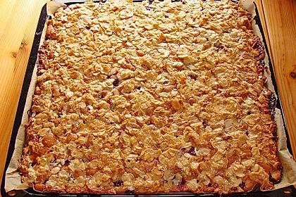 Schneller Blechkuchen mit Obst 9