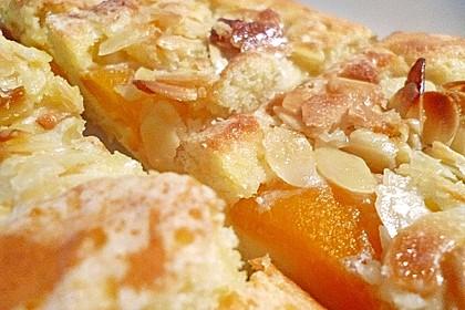Schneller Blechkuchen mit Obst 1