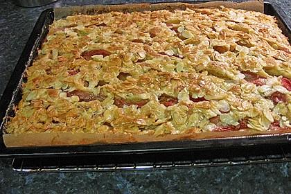 Schneller Blechkuchen mit Obst 4