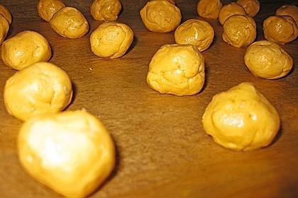 Schoko - Cookies mit Erdnussbutter - Füllung 40