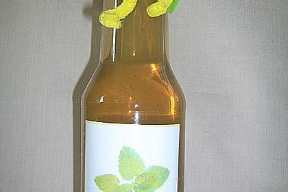 Zitronenmelissesirup 4