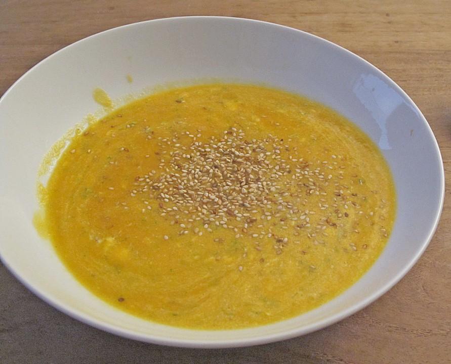 kohlrabi ingwer suppe rezept yummly kürbis karotten ingwer suppe mit
