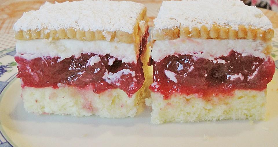 Der beste Rote Grütze - Kuchen | Chefkoch.de