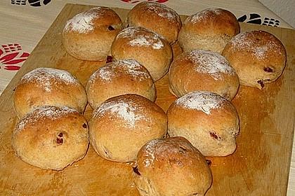 Sauerkraut - Brötchen