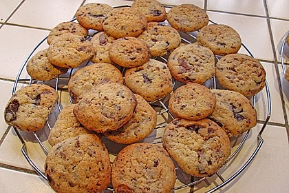 Schoko Cookies 17