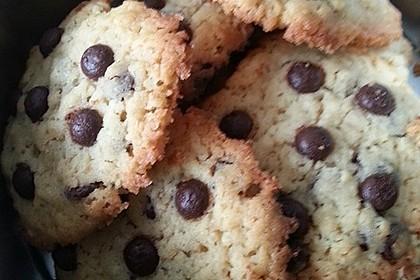 Schoko Cookies 18