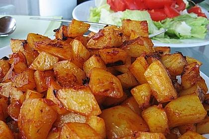 Knusprige Honig - Kartoffeln 1