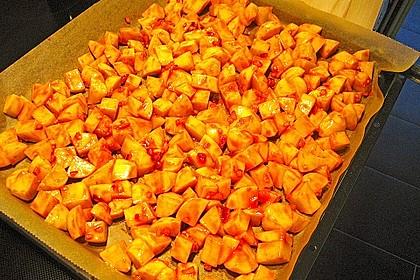 Knusprige Honig - Kartoffeln 9