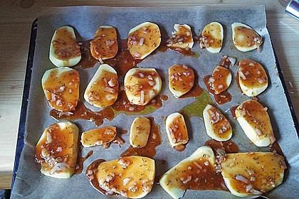 Knusprige Honig - Kartoffeln 23