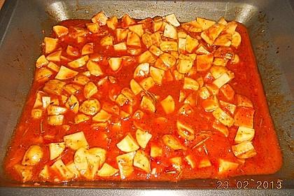 Knusprige Honig - Kartoffeln 20