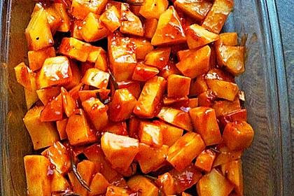 Knusprige Honig - Kartoffeln 10