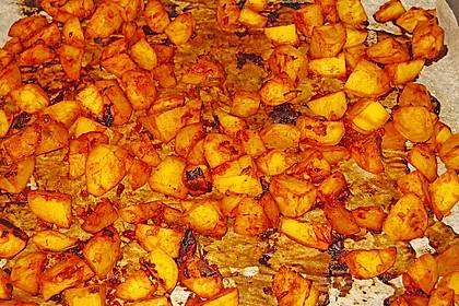 Knusprige Honig - Kartoffeln 21