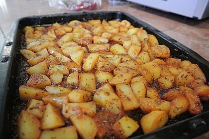 Knusprige Honig - Kartoffeln 17