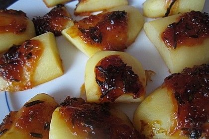 Knusprige Honig - Kartoffeln 18