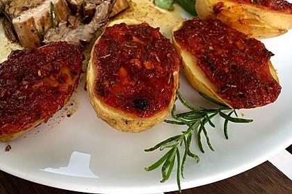 Knusprige Honig - Kartoffeln 6