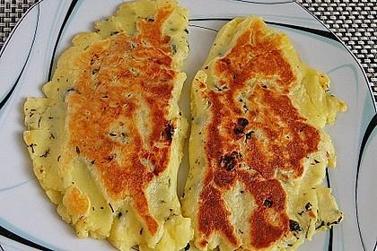 Spinat - Kartoffeltaschen 3