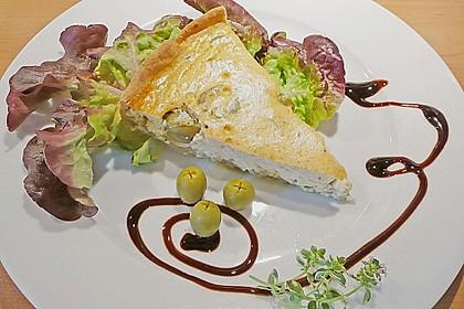 Sommerliche Oliven - Tarte