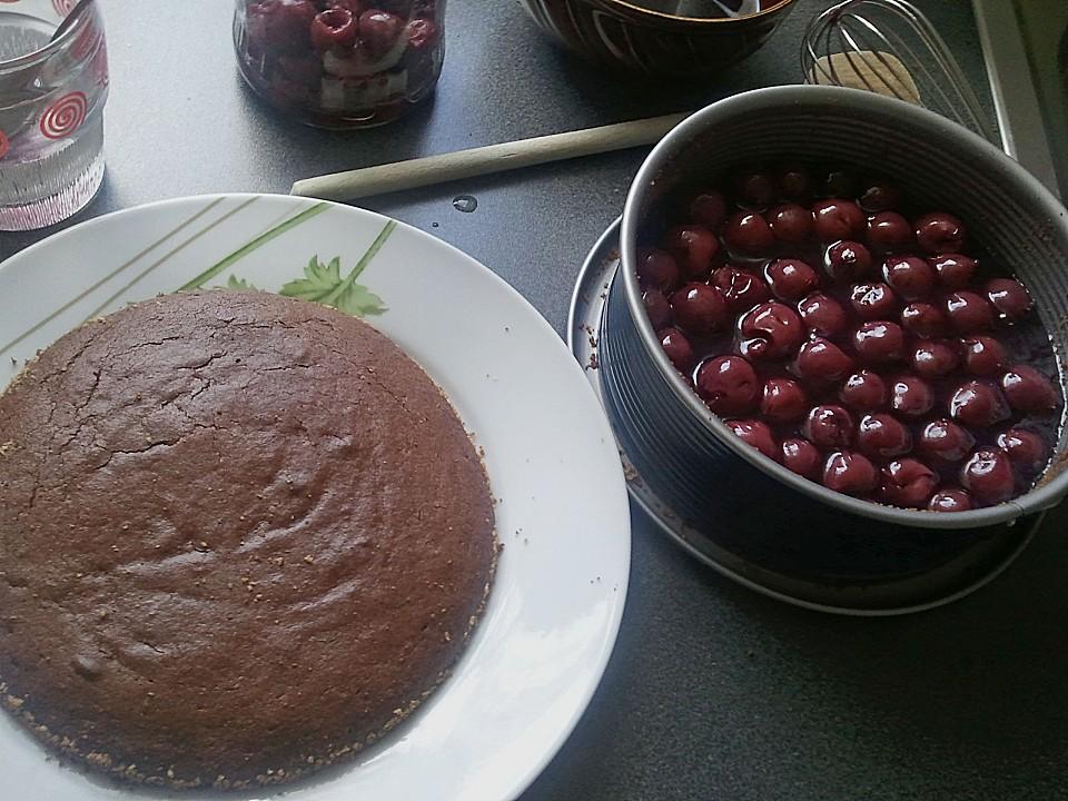 Kuchen Kleine Form kleiner schoko kirsch kuchen shanai chefkoch de