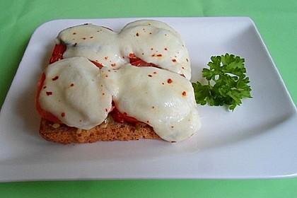 Tomaten - Mozzarella - Brötchen
