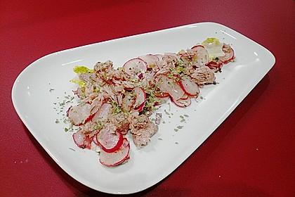 Radieschensalat mit Thunfisch 2