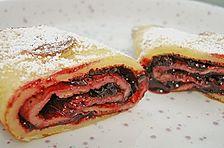 Glutenfreie Pfannkuchen - süße Variante