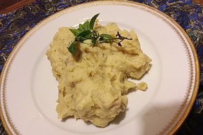 Stampfkartoffeln mit Buttermilch 4