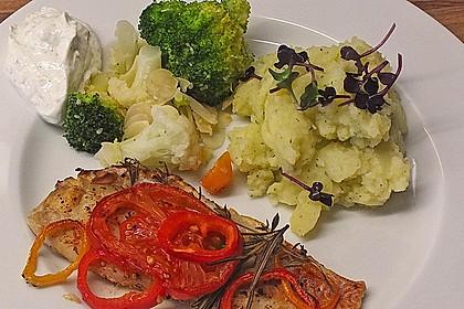 Stampfkartoffeln mit Buttermilch 1