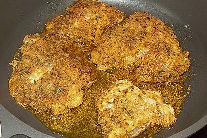 Panierte Hähnchenbrust mit Kräuterkruste 1