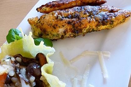 Panierte Hähnchenbrust mit Kräuterkruste 3