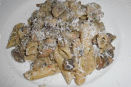 Champignon - Nudelpfanne a la Mäusle 1