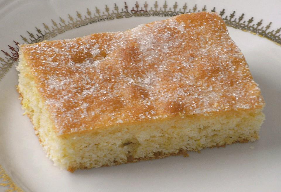 Kuchen mit holunder