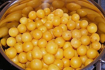 Eichkatzerls Mirabellen - Zitronen - Gelee 1