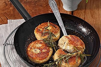 Kartoffelfrikadellen gefüllt mit Schafskäse 3
