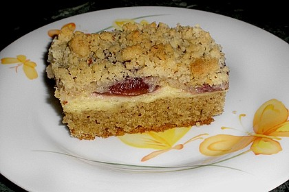 Zwetschgenkuchen 4 - schichtig 4