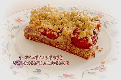 Zwetschgenkuchen 4 - schichtig 5