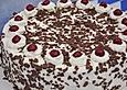 Beschwipste Schwarzwälder Torte